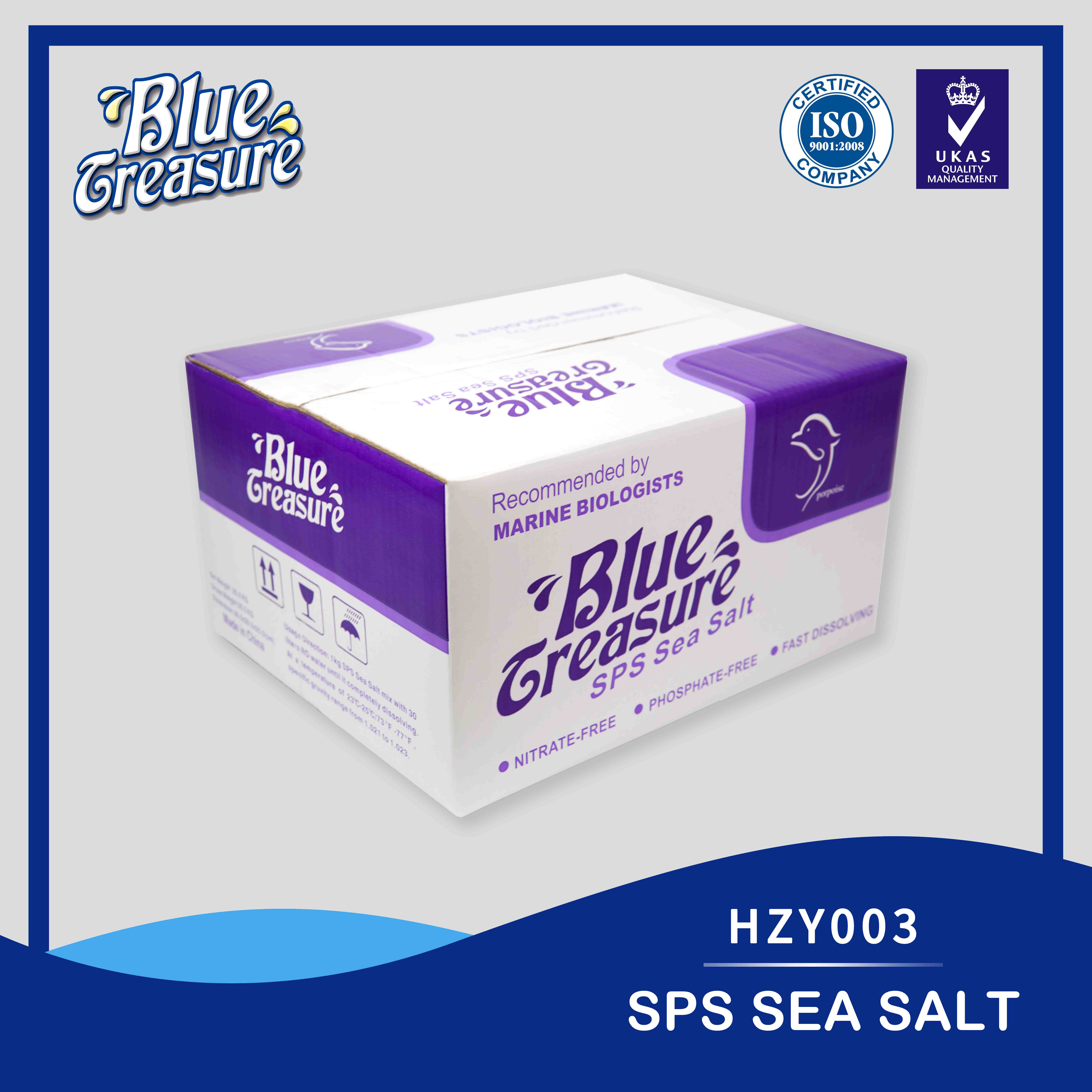 SPS Sea Salt 20kg/bag/carton HZY003