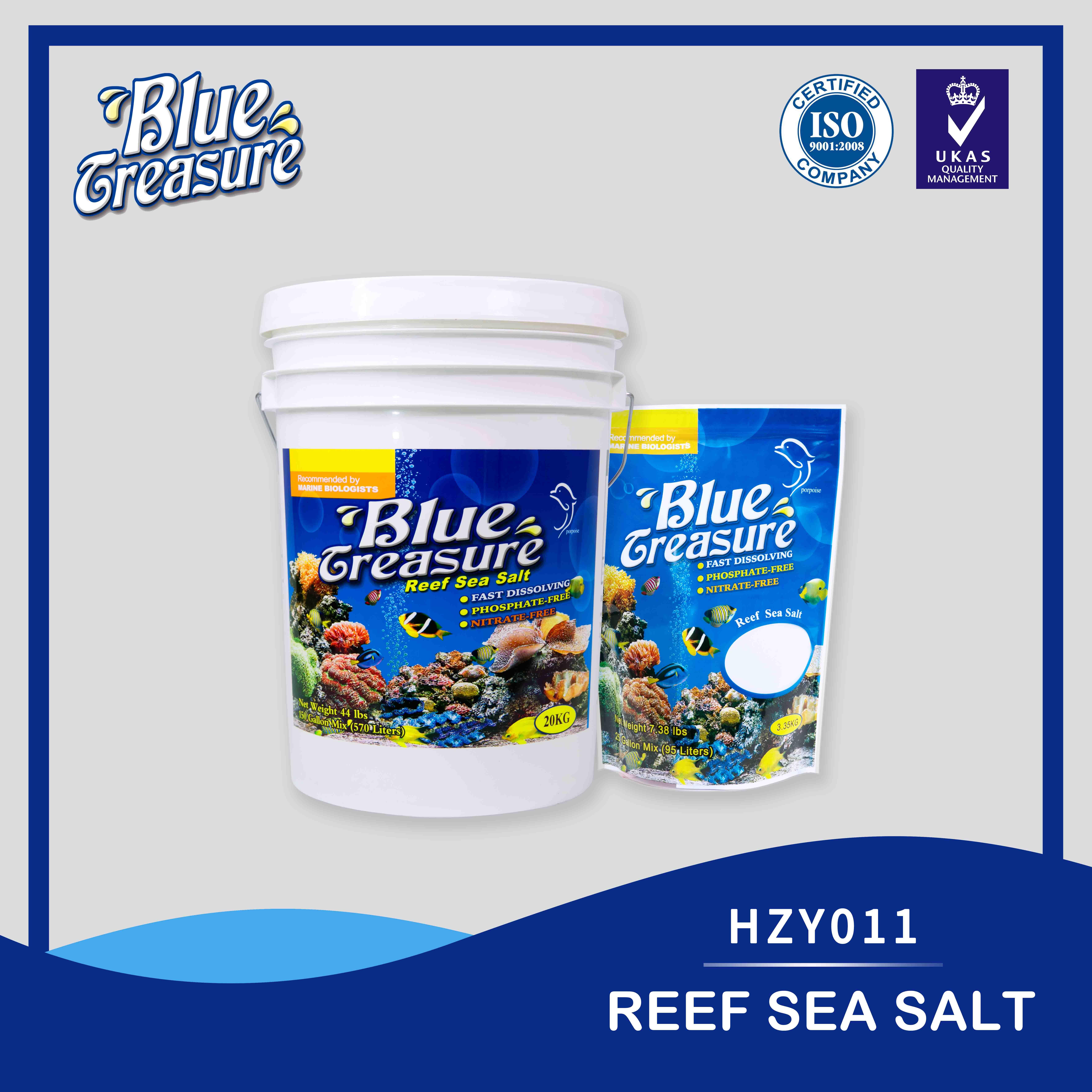 Reef Sea Salt 6*3 35kg/bucket HZY011 , Manufacturer & supplier